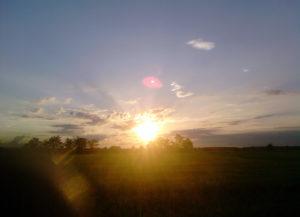 Vignarello al tramonto