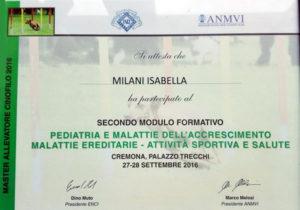 Secondo modulo formativo Master Allevatore Cinofilo 2016